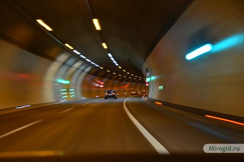 Тоннель, Австрия