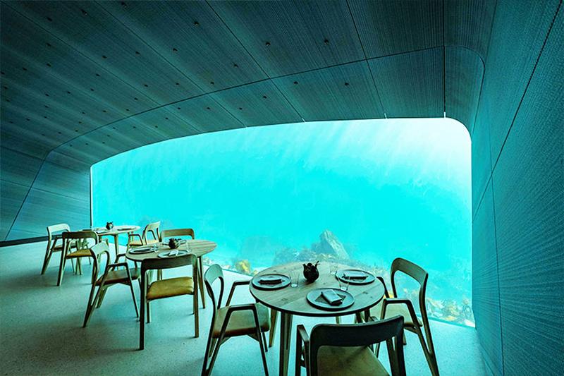 10 необычных ресторанов мира