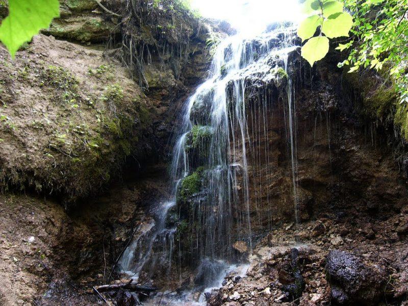 5 водопадов неподалеку от Москвы